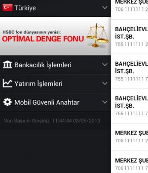 HSBC Mobil Bankacılık Ekran Görüntüleri - 4