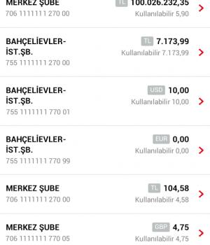 HSBC Mobil Bankacılık Ekran Görüntüleri - 2
