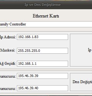 Ip ve DNS Değiştirme Ekran Görüntüleri - 4