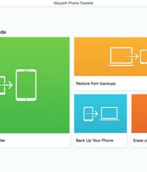 iSkysoft Phone Transfer Ekran Görüntüleri - 3