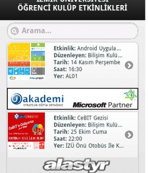İzmir Üniversite Etkinlikleri Ekran Görüntüleri - 4