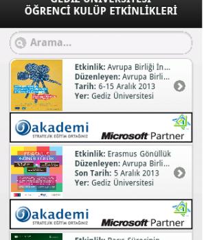 İzmir Üniversite Etkinlikleri Ekran Görüntüleri - 5