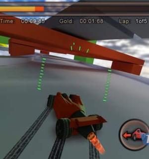 Jet Car Stunts Lite Ekran Görüntüleri - 1