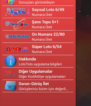 Loto Toto Ekran Görüntüleri - 3