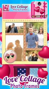Love Collage Photo Frames Ekran Görüntüleri - 1