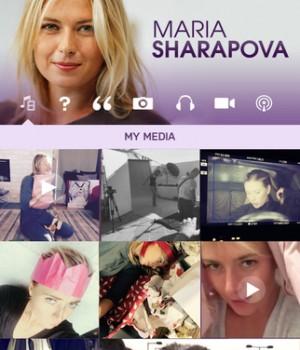 Maria Sharapova Official App Ekran Görüntüleri - 4