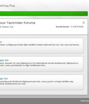 McAfee AntiVirus Plus Ekran Görüntüleri - 2