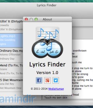 MediaHuman Lyrics Finder Ekran Görüntüleri - 3