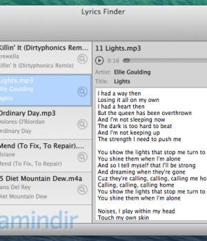 MediaHuman Lyrics Finder Ekran Görüntüleri - 1