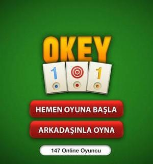 Okey 101 Online Ekran Görüntüleri - 1