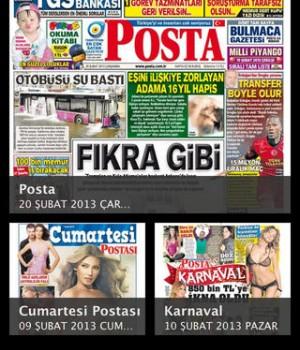Posta eGazete Ekran Görüntüleri - 4