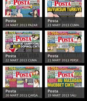 Posta eGazete Ekran Görüntüleri - 3