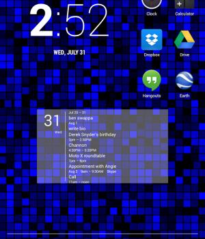 Simple Calendar Widget Ekran Görüntüleri - 4
