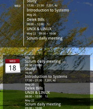 Simple Calendar Widget Ekran Görüntüleri - 1