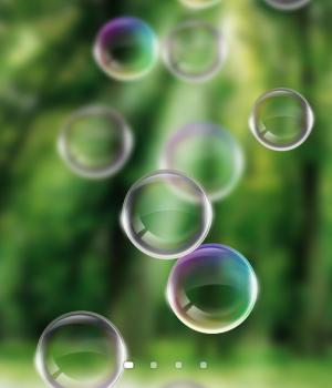 Soap Bubbles Live Wallpaper Ekran Görüntüleri - 1