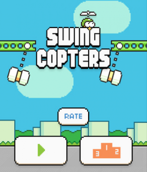 Swing Copters Ekran Görüntüleri - 4