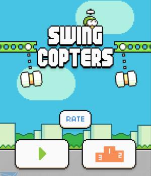 Swing Copters Ekran Görüntüleri - 3
