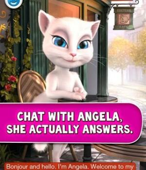 Talking Angela Ekran Görüntüleri - 4