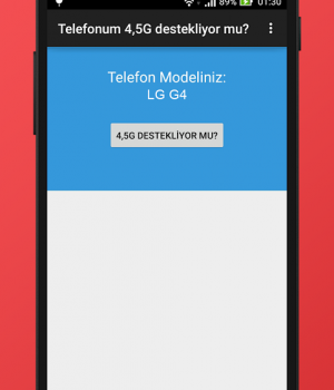 Telefonum 4,5G destekliyor mu? Ekran Görüntüleri - 1