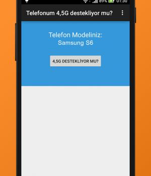 Telefonum 4,5G destekliyor mu? Ekran Görüntüleri - 2