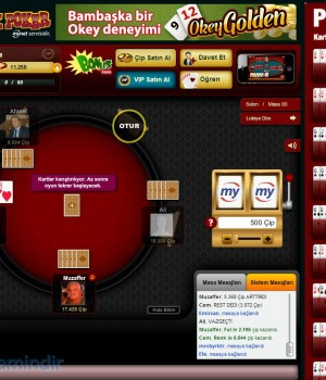 Türk Poker Ekran Görüntüleri - 2