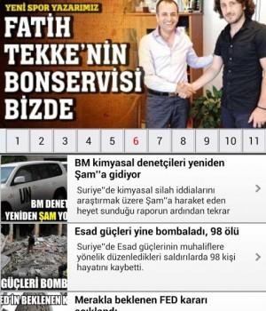 Türkiye Gazetesi Mobil Ekran Görüntüleri - 2