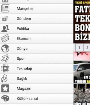 Türkiye Gazetesi Mobil Ekran Görüntüleri - 1