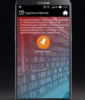 Üniversite Öğrenci Sistemi Ekran Görüntüleri - 1