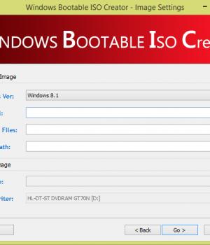 Windows Bootable Image Creator Ekran Görüntüleri - 1