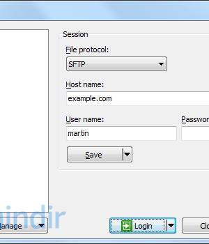 WinSCP Ekran Görüntüleri - 3