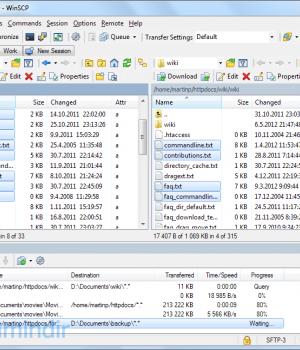 WinSCP Ekran Görüntüleri - 5