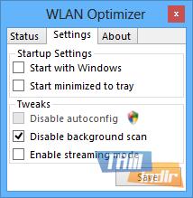 WLAN Optimizer Ekran Görüntüleri - 1