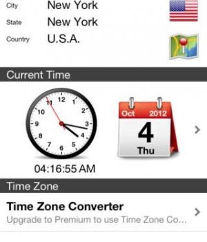 World Clock Ekran Görüntüleri - 3