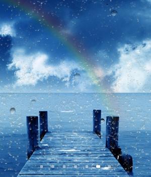 Yağmur Damlası Duvar Kağıdı Ekran Görüntüleri - 1