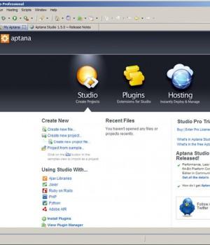 Aptana Studio Ekran Görüntüleri - 1