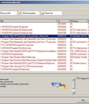Autostart and Process Viewer Ekran Görüntüleri - 1