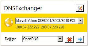 DNSExchanger Ekran Görüntüleri - 1