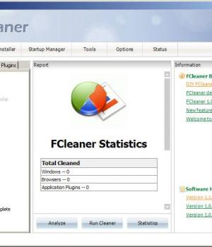 FCleaner Ekran Görüntüleri - 1