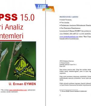 SPSS 15.0 Veri Analizi Ekran Görüntüleri - 2