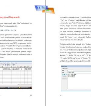 SPSS 15.0 Veri Analizi Ekran Görüntüleri - 1