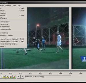VirtualDub Ekran Görüntüleri - 2