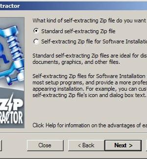 WinZip Self-Extractor Ekran Görüntüleri - 1