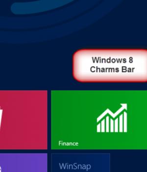 Windows 8 Charms Bar Skin Ekran Görüntüleri - 3