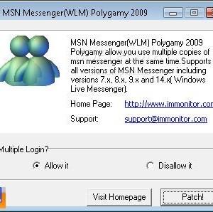 MSN Messenger (WLM) Polygamy Ekran Görüntüleri - 1