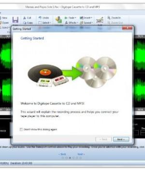 Digitope Cassette to CD and MP3 Ekran Görüntüleri - 1