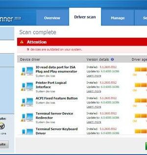 DriverScanner Ekran Görüntüleri - 1
