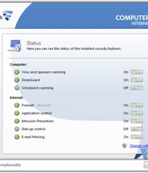 F-Secure Internet Security Ekran Görüntüleri - 3