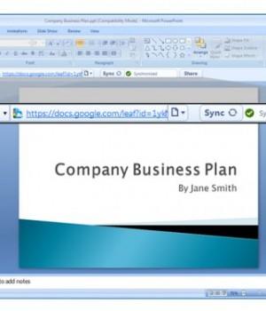 Google Cloud Connect for Microsoft Office Ekran Görüntüleri - 2