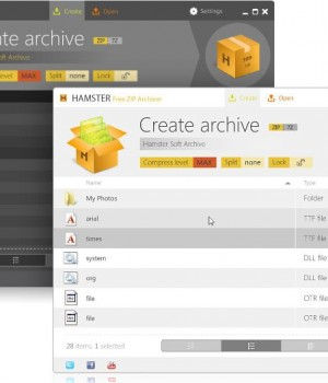 Hamster Free Zip Archiver Ekran Görüntüleri - 1