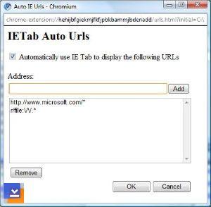 Chrome IE Tab Ekran Görüntüleri - 1